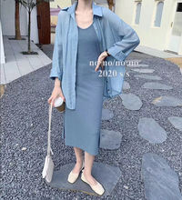 Zosol Весна 2020 новый стиль подходящие платья комплекты из