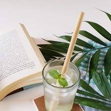 25 шт бамбуковая солома многоразовая солома Органическая Бамбуковая Питьевая соломка натуральные деревянные соломки