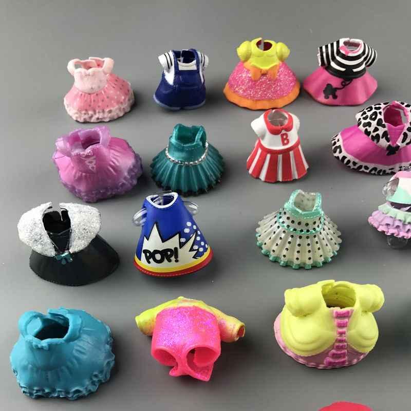 מקורי יפה בובת בגדי עבור DIY LOLs גדול בובת דמות צעצוע אביזרי צעצוע קישוטי מוצרים