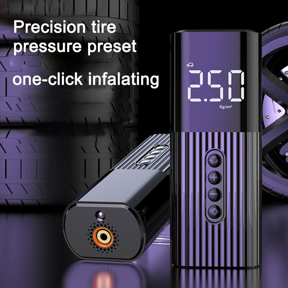 Портативный цифровой насос Usb воздушный компрессор для автомобильного насоса авто беспроводной для автомобиля мотоцикла футбола велосипеда Воздушный насос      АлиЭкспресс