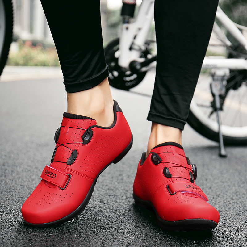 Cycling Shoes Sapatilha Ciclismo Mtb No Lock Men Sneakers Women Mountain Bike Outdoor Superstar Original Bicycle Sports Shoes