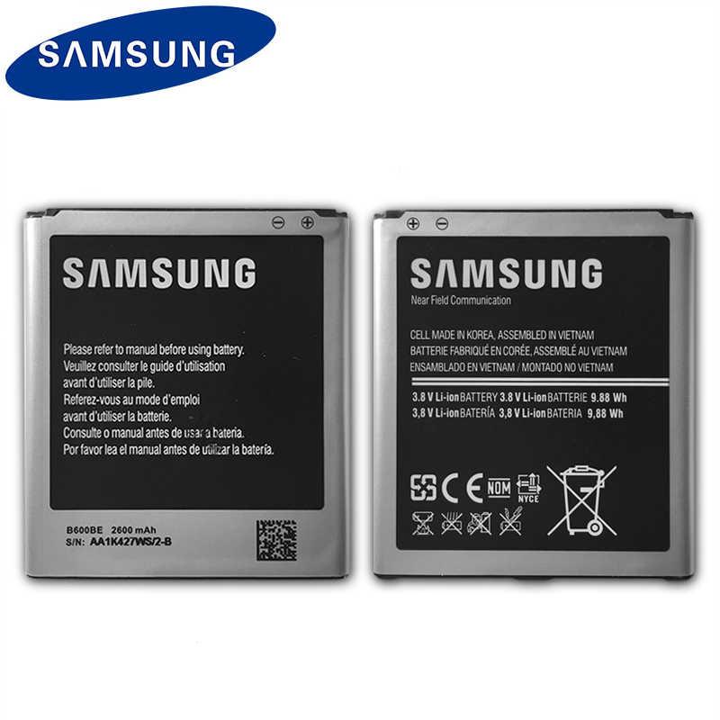 Samsung 100% D'origine Téléphone Batterie B600BE Pour Samsung Galaxy S4 i9500 i9505 i959 i337 i545 i9295 e330s B600BC 2600mAh