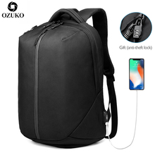 New Multifunction USB Charging Men Backpack For Teenager Fashion Male Mochila 15.6