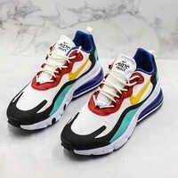 Sapatos masculinos nike air max 270 react bauhaus