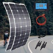 100 Вт 200 300 400 Гибкая солнечная панель Высокая эффективность