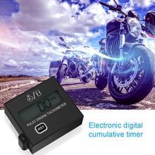 LCD Digital Tach Hour Meter Tachometer for Outboard Motor Lawn Mower Motocross Motorcycle Marine Chainsaw Pit Bike стоимость