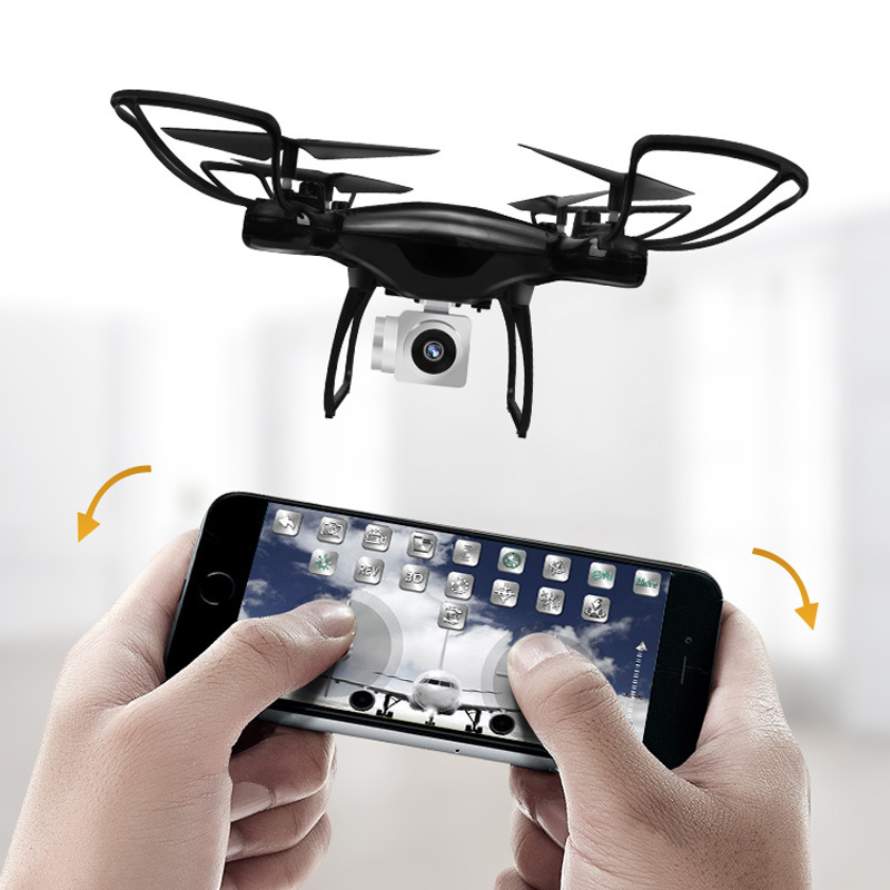 Hot Selling Remote-control Four-axis Aircraft A Key Return High-definition Aerial Photography Set High Ultra-long Life Battery U