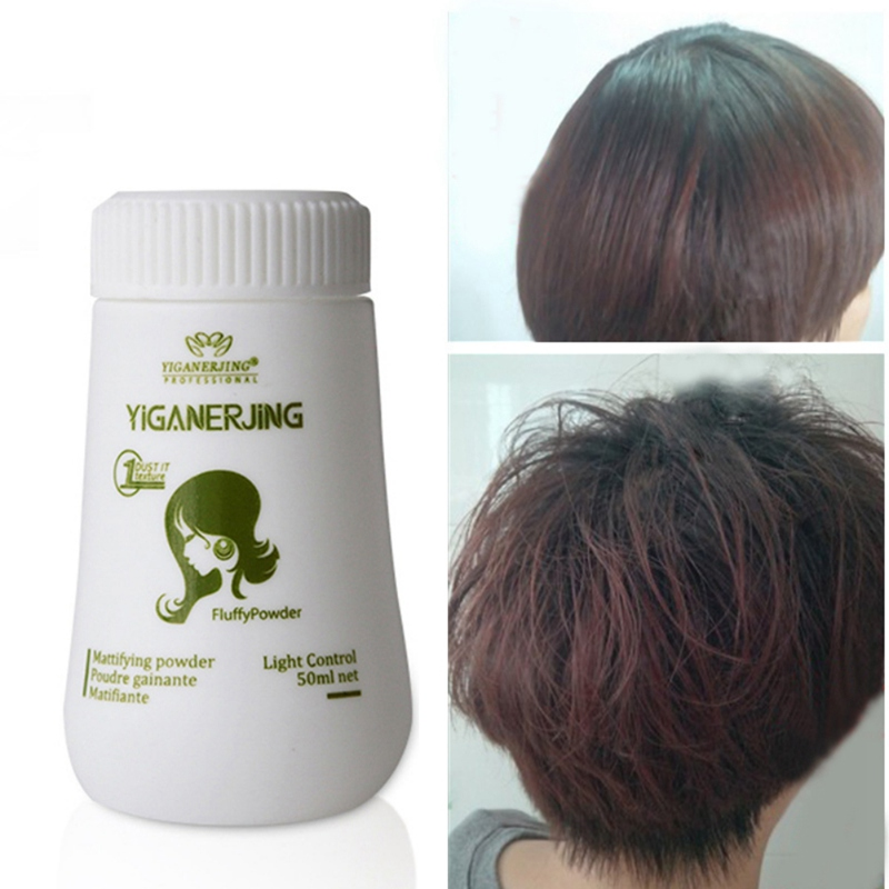 Fluffy Hair Powder Mud Hair Wax Fluffy Powder Dust Hairspray Increases Hair Volume Dry And Not Greasy Remove Oil Refreshing 10g in Pomades Waxes from Beauty Health