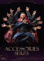 DJ-1/6 The Avengers Dr. Strano HT Figura Accessori A Mano Forma del Eckne