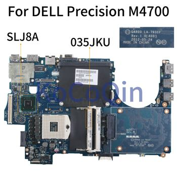 KoCoQin Laptop motherboard For DELL Precision M4700 SLJ8A Mainboard CN-035JKU 035JKU CN-0J867P 0J867P QAR00 LA-7931P