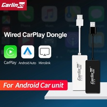 Carlinkit torsadé CarPlay lien intelligent Dongle pour Android Auto Carplay pour Android système écran Carplay pour Apple Mirrorlink IOS14