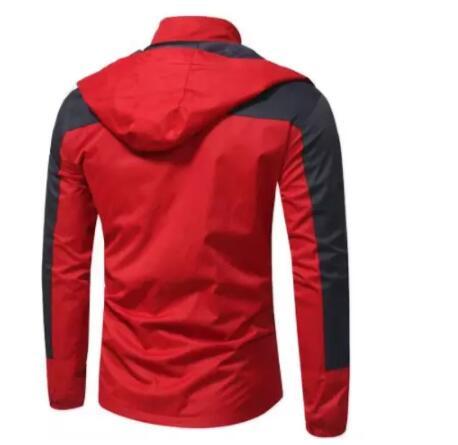 Hot new men's slim casual jacket Jacket mountaineering clothing warm large size casual jacket