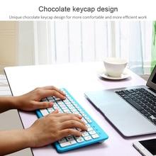 CHYI Drahtlose Tastatur Stille Dünne Büro 96 Tasten Tastatur Multimedia Gaming Tastatur Für Laptop Computer