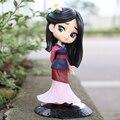2020 хит продаж 14 см Q Posket принцесса Мулан фигурка модель игрушки торт фигурка анимация красивая модель куклы Подарки для девочек