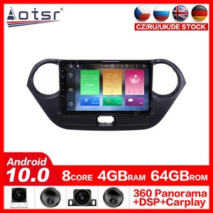 Android10.0 Car GPS navigation multimedia Player For Hyundai I10 2013-2016 car GPS navigation WIFI Auto stereo radio head unit