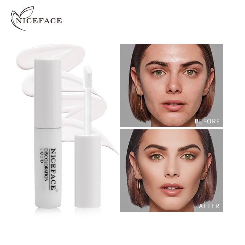 NICEFACE Natural Moisturizing Duration Of Color Changing Liquid Basic Products Lightening Skin Color Concealer Makeup TSLM1