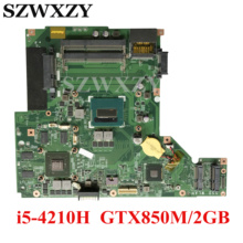 Laptop Motherboard CPU Msi Ge60 DDR3L GTX850M/2GB Ms-16gh1-Ver:1.0 for GP60 with SR1Q0