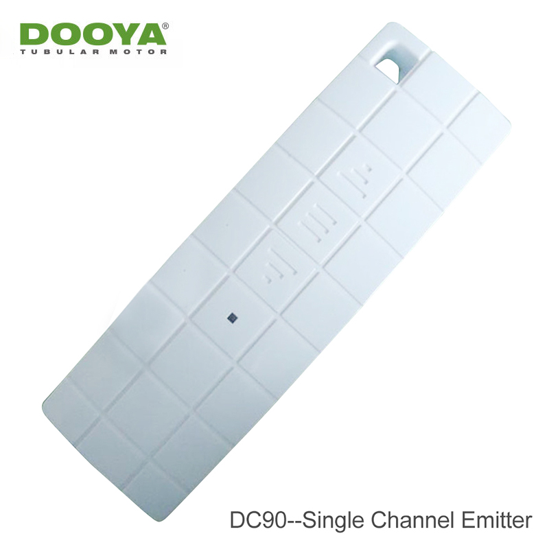 Original Dooya DC90 Single Channel Transmitter For Dooya Motor Smart Home RF 433MHZ Remote Control Automatic Curtain Accessorie