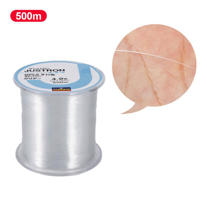 Fishing-Line Strong-Monofilament Waterproof-Line Nylon Super 500M And Wearable title=