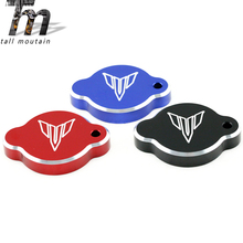 цена на Radiator Cover Water Tank Cap For YAMAHA MT-09 FZ-09 MT09 FZ09 2014 2015 2016 14 15 16 MT/FZ 09 Motorcycle Accessories Aluminum