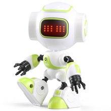 Jjrc R9 Luby Intelligente Robot Touch Control Diy Gebaar Talk Smart Mini Rc Robot Gift Speelgoed Kids Jongens Meisjes Kleine robot