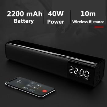 Barra de sonido inalámbrica con Bluetooth para cine en casa Altavoz para...