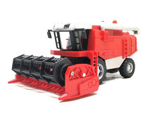 Quente 1:32 liga fazenda colheitadeira modelo, fazenda brinquedo weeder, brinquedo das crianças, som simulado e luz, frete grátis