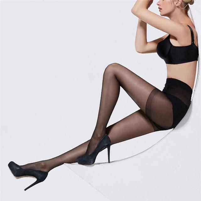 Female High-Elastic Tight Pantyhose Stockings Pantyhose Underwear Summer Fashion Solid Seamless Female Hosiery Pantyhose 2020 1