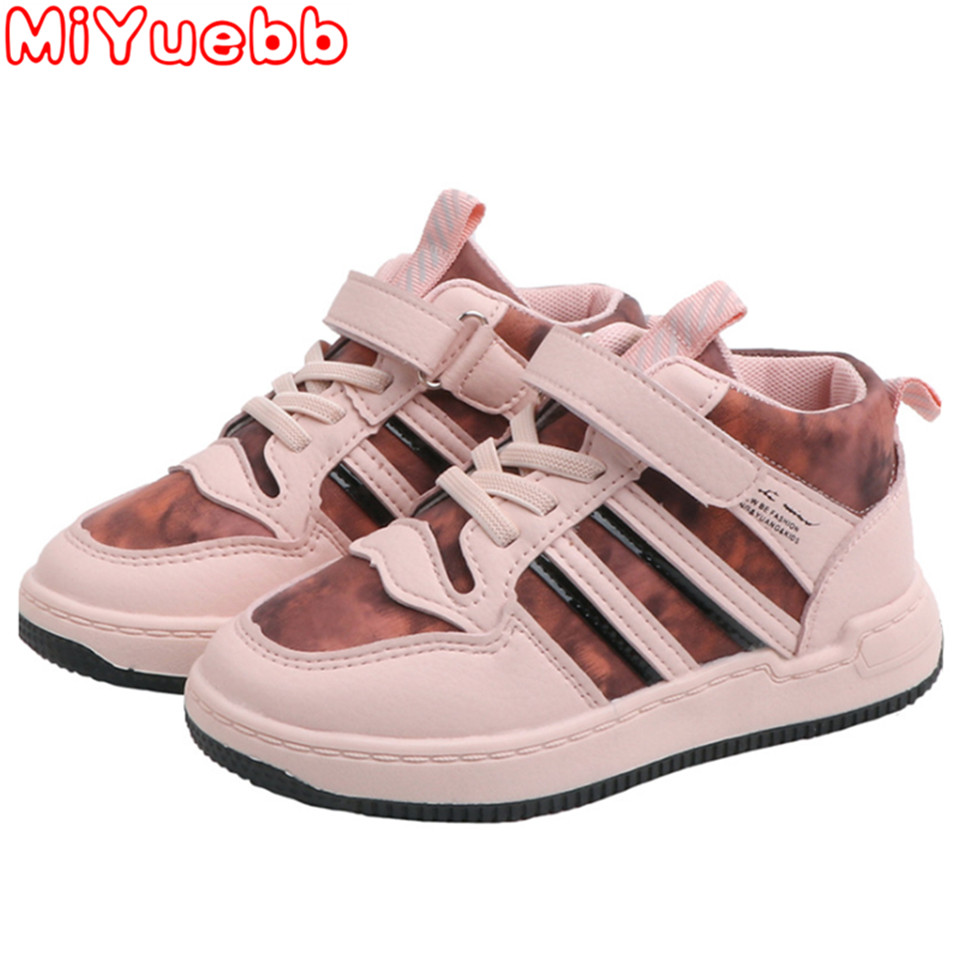 Kids Shoes Girls Boys Sneakers 2020 Brand Baby Lace Up High Children Sneakers Girl Baby Shoes Sport Autumn Winter Children Shoes