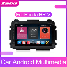 ZaiXi Android Car Multimedia player 2 Din GPS Navigation Autoradio For Honda HR-V HRV 2014~2019 HD screen Radio FM Maps BT