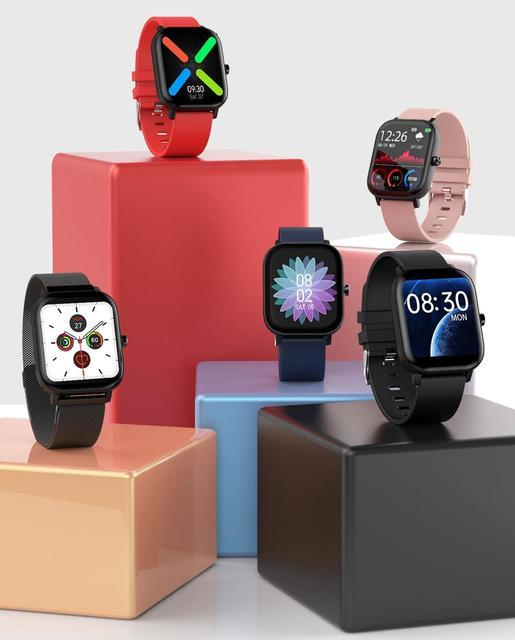 Senbono Sport I10 Smart Horloge Fitness Tracker Ondersteuning Hartslagmeter Armband Smartwatch Mannen Vrouwen Voor Bluetooth Ios Android