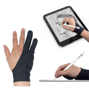 Anti-Touch-Glove Screen-Board Finger-Sleeve Drawing-Tablet iPad Artist for Right Left