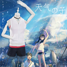 Anime Weathering With You Cosplay Costumes Hina Amano Costume Uniforms Halloween Party Tenki No Ko Women