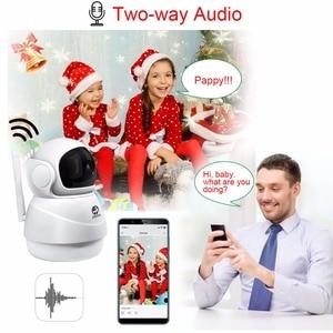 Image 4 - JOOAN kablosuz IP kamera 2MP Wifi güvenlik ev ağ Video gözetim Mini Pet kamera kapalı bebek izleme monitörü 1080P