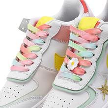 1 пара кроссовок белые ботинки со шнурками Аксессуары унисекс