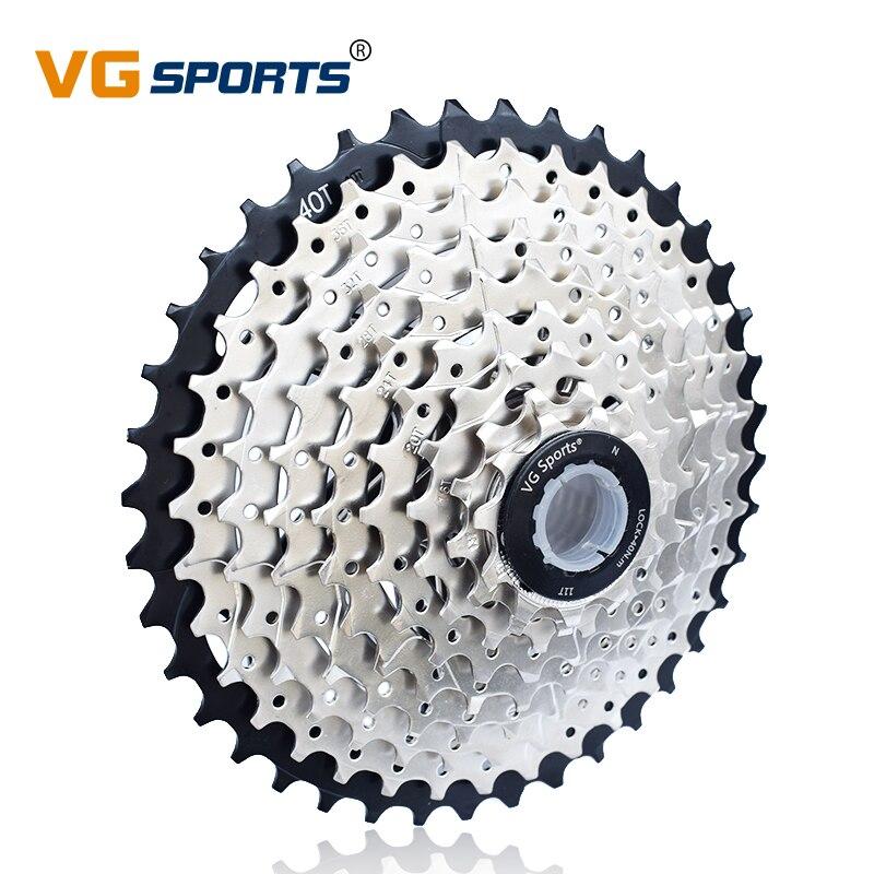 VG Sports 9 vitesses 11-40T 11-42T Cassette vélo roue libre pignon portable 9 S Velocidade 40T 42T vtt VTT roue libre