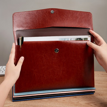 A4 Large Capacity Document Storage Bag Waterproof File Bag Organizer Data Book File Pouch Bill Folder School Office Accessories