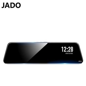 JADO G830 2020 nowa car recorder Przed i po1296P HD night vision10 Cal 1296P podwójne nagrywanie kamera samochodowa ekran IPS wodoodporny Anti-fog Funkcja Wi-Fi kamera internetowa Automatyczne napełnianie światła tanie i dobre opinie Other Lusterko wsteczne Klasa 10 105 °-140 ° Samochód dvr 1920x1080 Wewnętrzny Led light Szeroki zakres dynamiki Automatyczny balans bieli