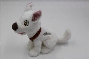 Image 2 - Болт Собака Щенок белая собака плюшевая кукла чучела животное игрушка мальчики девочки детские игрушки для детей Подарки