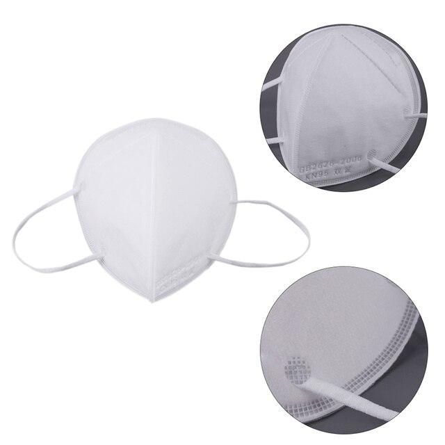 5 Layers Safety Dust Mask Antivirus Flu Anti Infection Mask Washable Face Mask Professional Protective Masks 3