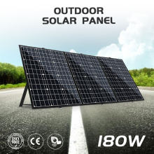 180W(3PCS x 60W )Foldable Solar Panel China 18V+20A 12V/24V Controller Panel Solar Easy to Carry Cell/System Charger