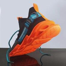 Zapatillas deportivas transpirables para hombre, calzado deportivo ligero, cómodo, de talla grande 45, para caminar y trotar, 46