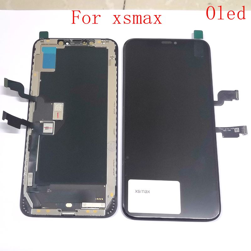Oled For Iphone XS Max A2101 A2102 A1921 Lcd Display+Touch Panel Glass Digitizer Replacement Repair Parts 6.5