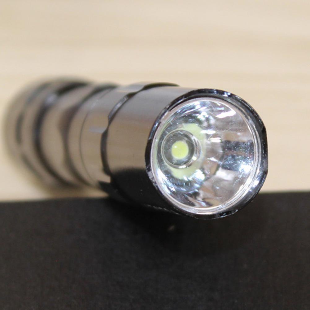 MeterMall Aluminum Alloy Portable Waterproof Emergency Mini LED Flashlight Torch Lamp