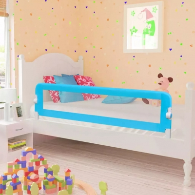 Toddler Safety Bed Rail 150 X 42 Cm Blue  Child Room Bed Railing Child Bed Bed Railing Bed Railing