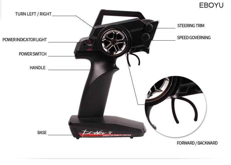 WLtoys A959A A959 A RC автомобиль 2,4 ГГц 1:18 Масштаб 4WD 35 км/ч высокий гоночный скоростной автомобиль дистанционное управление внедорожный автомобиль ... - 4