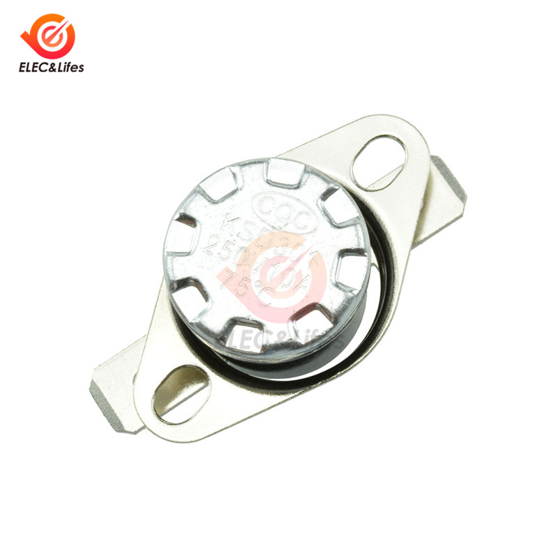 KSD301 250V 10A DegC 0-130 Celsius Degree Normally Open/Normally Close NO Thermostat Temperature Thermal Control Switch