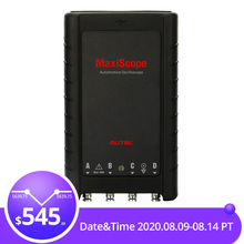 AUTEL MaxiScope MP408 Basic Kit 4 channel automotive oscilloscope work with PC &
