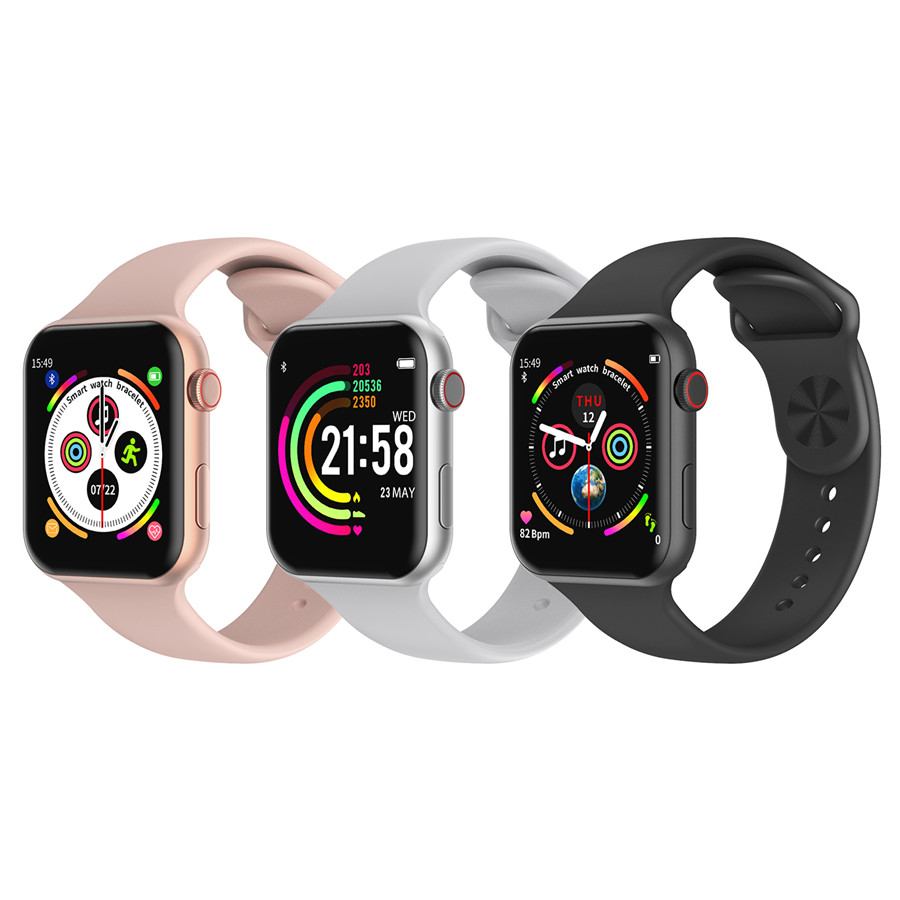 A5 Max Smart Watch 1.54 Full Touch Screen HeartRate Blood Pressure Monitor Waterproof Sport Smartwatch Tracker IOS PK F10 IWO8 9 (3)