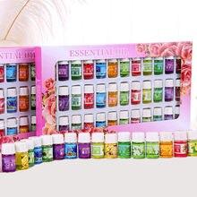 36*3ml mini óleos essenciais florais para aromaterapia óleo umidificador aroma difusor com 12 tipos de 36 garrafa floral conjunto